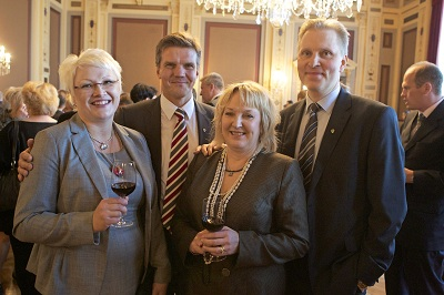 K-kauppiasliiton tilaisuus Tampereella 5. syyskuuta 2012. Photo by Kalle Parkkinen