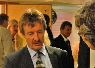 Yrittäjänpäiväsäätiön verkostotyöryhmän puheenjohtaja Pekka Ropponen on tehnyt paljon työtä yrittäjyyden hyväksi.